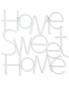 Graham & Brown Home Sweet Home Metal Wall Decor