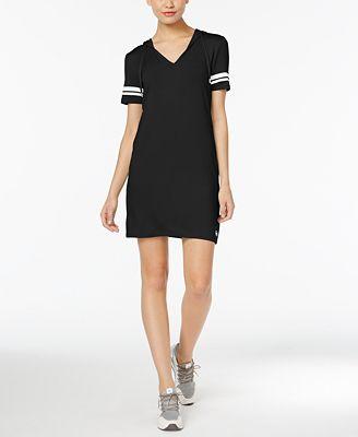 MICHAEL Michael Kors Hooded Shirtdress