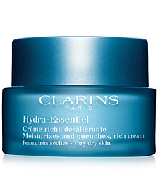 Clarins Hydra-Essentiel Rich Cream - Very Dry to Dry Skin, 1.8 oz.