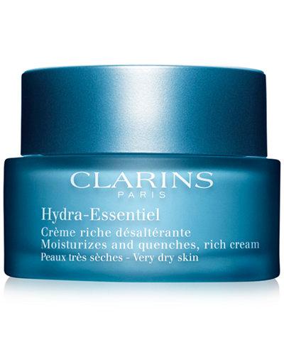 Clarins Hydra-Essentiel Rich Cream - Very Dry to Dry Skin, 1.8 oz.