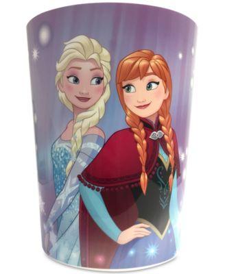 Frozen Snowflake Wastebasket