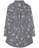 Levi's® Long Sleeve Woven Dress, Toddler & Little Girls (2T-6X)