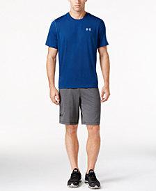 Under Armour Men's Threadborne T-Shirt & Raid Shorts