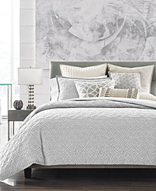 Hotel Collection Connections Full/Queen Duvet Cover, Created for Macy's