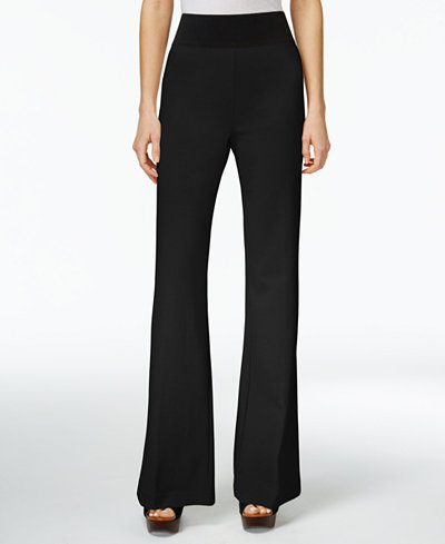 INC International Concepts Petite Pull-On Wide-Leg Pants, Only at ...