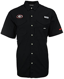 Columbia Men's Georgia Bulldogs Bonehead Short Sleeve Shirt