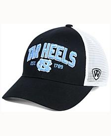 North Carolina Tar Heels Black Mesh Teamwork Snapback Cap