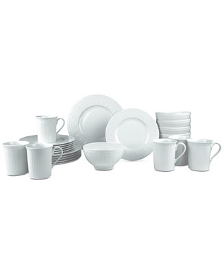 villeroy & Boch Cellini 24-Pc. Dinnerware Set, Service for 6 - Dinnerware - Dining ...
