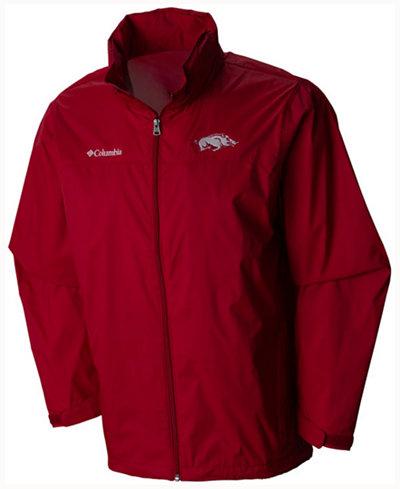 Columbia Men's Arkansas Razorbacks Glennaker Lake Jacket