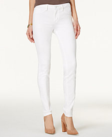 Jessica Simpson Kiss Me White Wash Super-Skinny Jeans