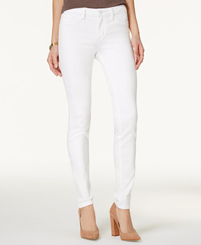 Jessica Simpson Kiss Me White Wash Super-Skinny Jeans