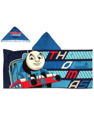 Thomas the Tank Engine Color Block Hooded Towel