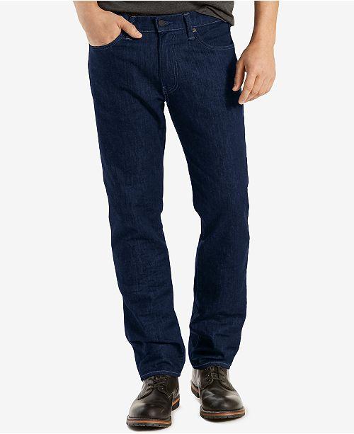 Levi S 541 Athletic Fit Rigid Twill Pants Jeans Men Macy S