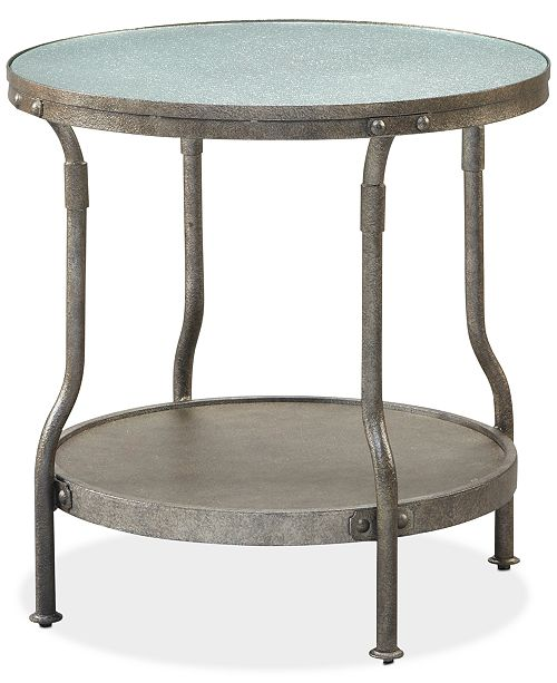 Furniture Cassie Round End Table, Quick Ship