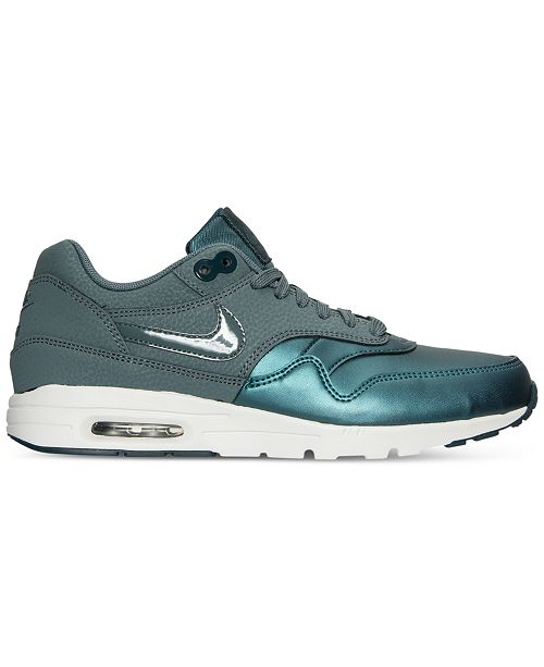 reputable site 8ca20 70191 ... Nike Women s Air Max 1 Ultra Essentials SE Running Sneakers from Finish  ...