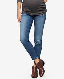 DL1961 Maternity Medium Wash Skinny Jeans