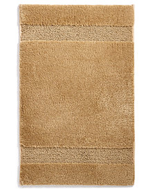"Martha Stewart Collection Spa 17"" x 25.5"" Bath Rug, Created for Macy's"