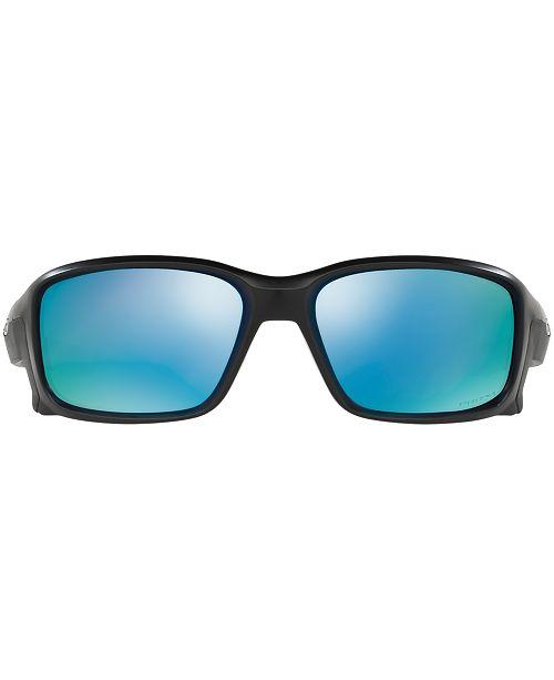 c154dd8005 ... Oakley Polarized Straightlink Prizm Deep Water Polarized Sunglasses
