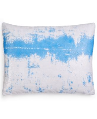 "Sequin Ombré Sky 12"" x 16"" Decorative Pillow"