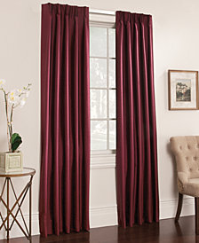 "Miller Curtains Buckingham Antique Satin Pair of 50"" x 95"" Window Panels"