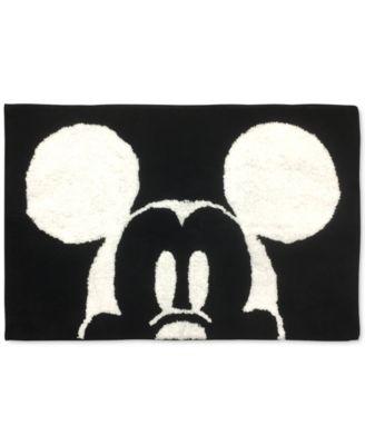 Big Face Mickey Mouse Bath Rug