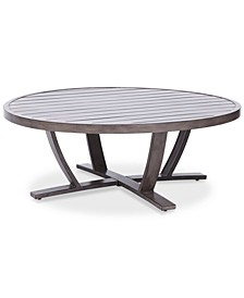 "Tara Aluminum 48"" Round Outdoor Table, Created for Macy's"