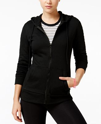 Material Girl Active Hoodie Juniors' Run Like A Girl Graphic, Only at Macy's