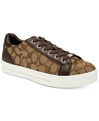 COACH Paddy Lace-Up Sneakers
