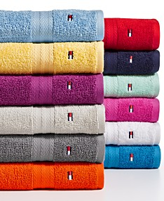 7842622f307 Tommy Hilfiger All American II Cotton Bath Towel Collection, Created for  Macy's