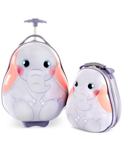 Heys Travel Tots Elephant 2PC Luggage & Backpack Set