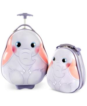Heys Travel Tots Elephant 2PC Luggage  Backpack Set
