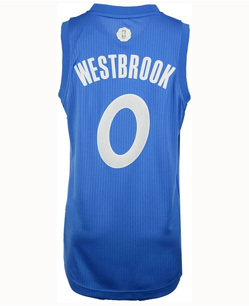 finest selection a7df8 cba3c adidas Men's Russell Westbrook Oklahoma City Thunder ...
