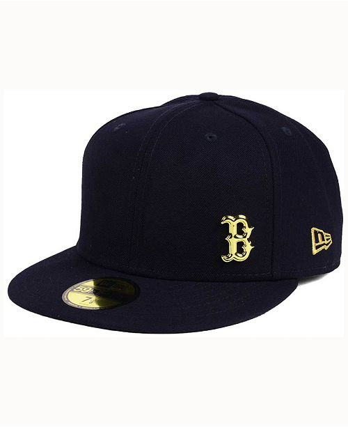 New Era Boston Red Sox Flawless OGold 59FIFTY Cap - Sports Fan Shop ... 8e2cc28d0afd