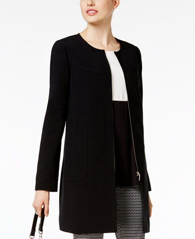 Alfani Zip-Front Jacket, Created for Macy's