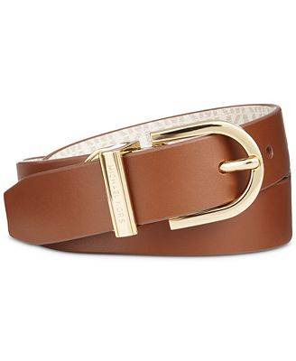 Michael Kors Reversible Logo Belt