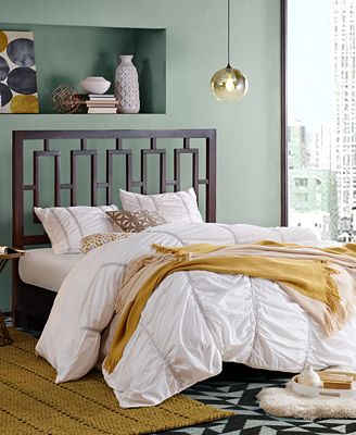 crosby headboard collection, quick ship - furniture - macy's