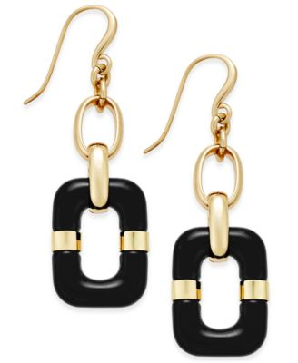 Image of Charter Club Link Drop Earrings, Only at Macy's