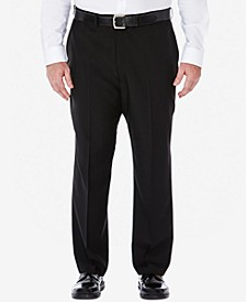 Men's Big & Tall ECLO Stria Classic-Fit Flat-Front Hidden Expandable Waistband Dress Pants