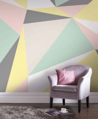 graham u0026 brown pastel geometric wall mural wallpaper