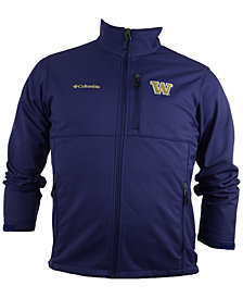 Columbia Men's Washington Huskies Ascender Softshell Jacket