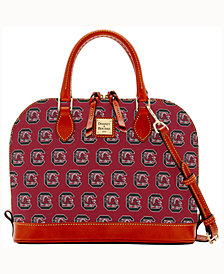 Dooney & Bourke USC Trojans Zip-Zip Satchel