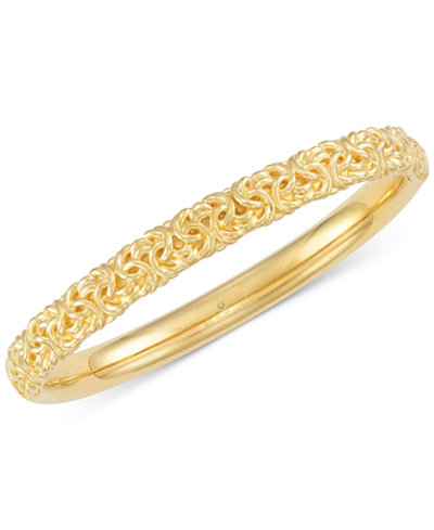 gold bangle com bangles eternagold bracelet qvc product page
