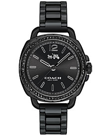 COACH Women's Tatum Black Ceramic Bracelet Watch 34mm 14502600
