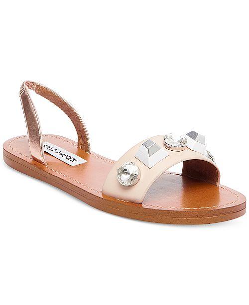 Steve Madden Ameline Embellished Two-Piece Sandals