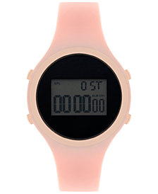 I.N.C. Women's Digital Silicone Strap Watch 38mm, Created for Macy's