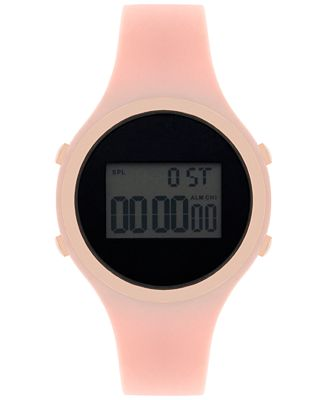 INC International Concepts Women's Digital Silicone Strap Watch 38mm, Only at Macy's