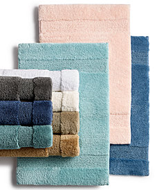 martha stewart collection spa bath rugs created for macys - Bathroom Rug Sets