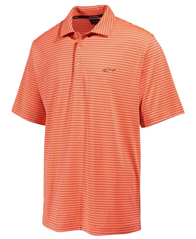 Greg Norman for Tasso Elba Men's 5-Iron Striped Performance Polo, Created for Macy's