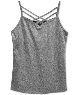 Image of Epic Threads Criss-Cross Shelf Camisole, Wear Me Two Ways, Big Girls (7-16), Only at Macy's
