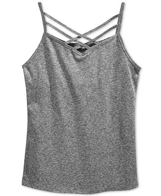 Epic Threads Criss-Cross Shelf Camisole, Wear Me Two Ways, Big Girls (7-16), Only at